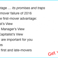 First-mover advantage ebook link collection