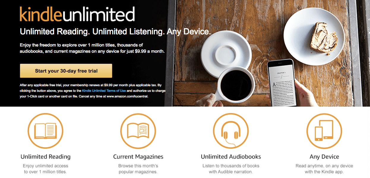 Kindle-unlimited-subscription-business-model