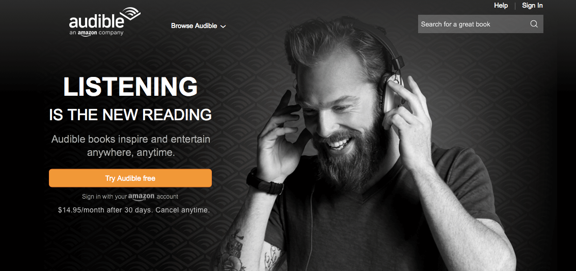 Audible-subscription-business