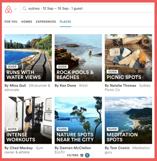 airbnb-segmentation-places-sydney-nature